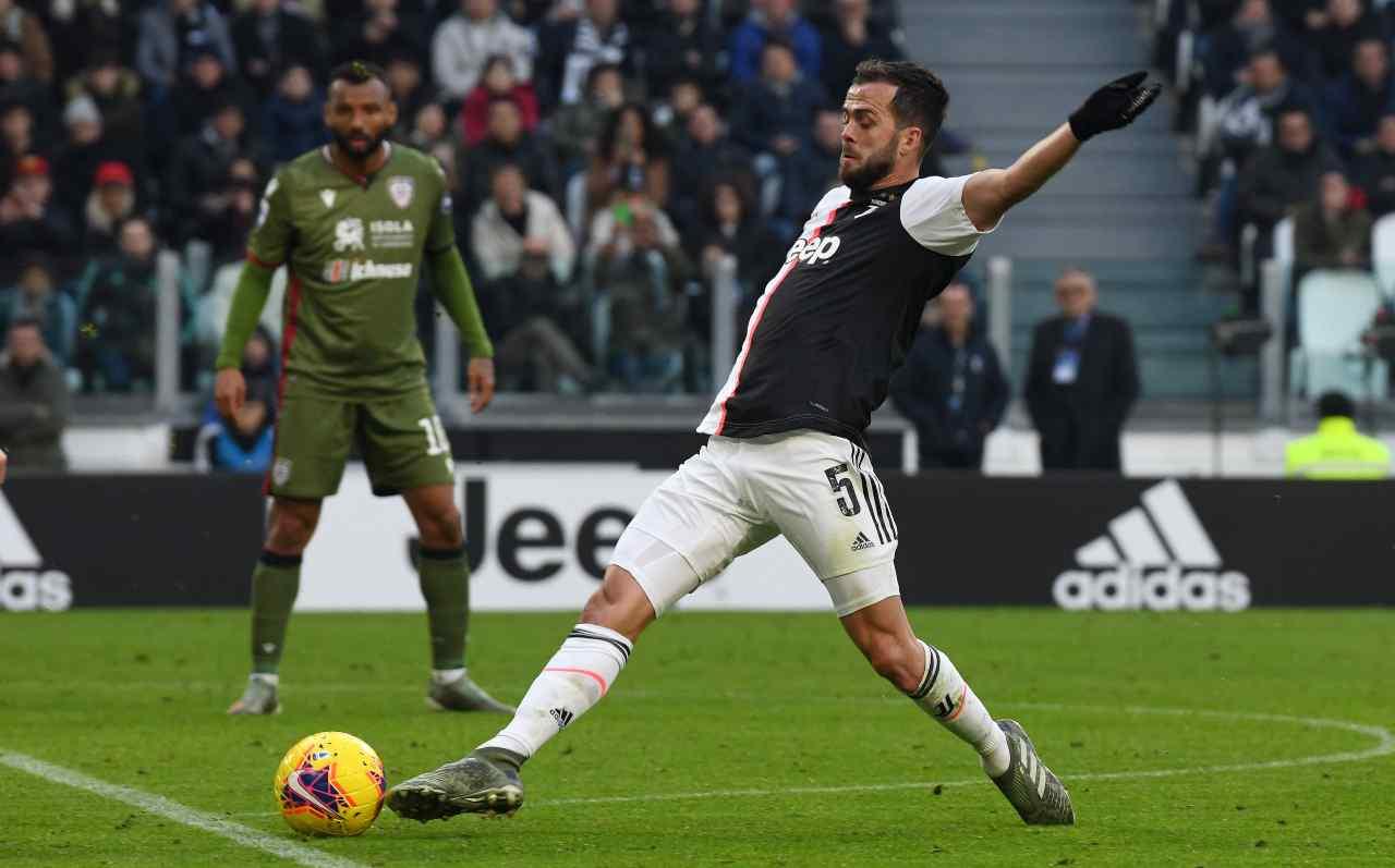 Cagliari-Juventus probabili formazioni