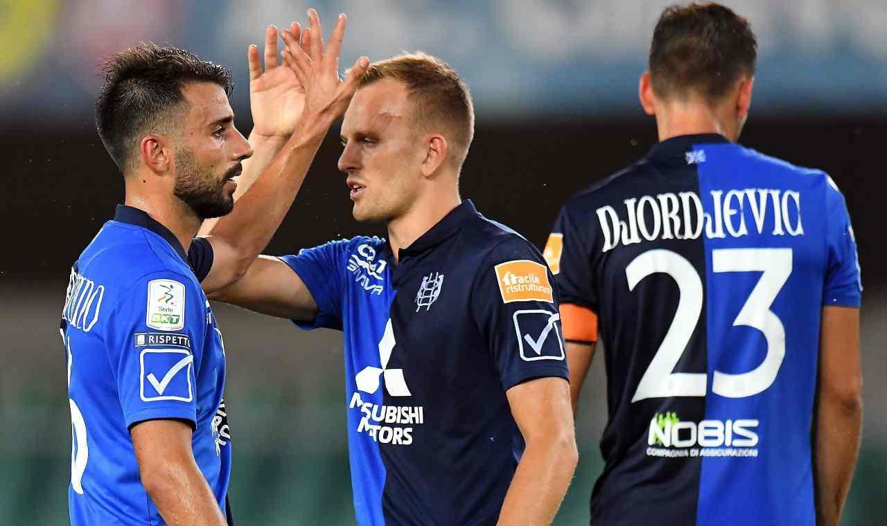 Chievo e Frosinone alle semifinali dei playoff
