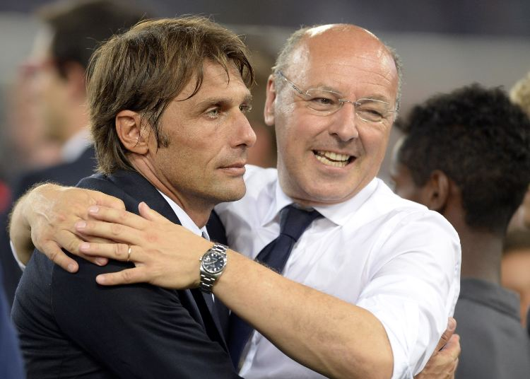 Antonio Conte e Beppe Marotta