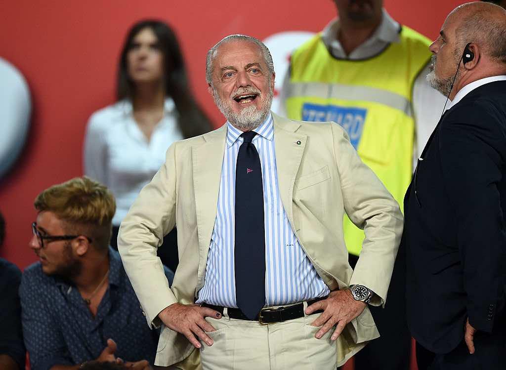 De Laurentiis soddisfatto del nuovo acquisto del Napoli Osimhen