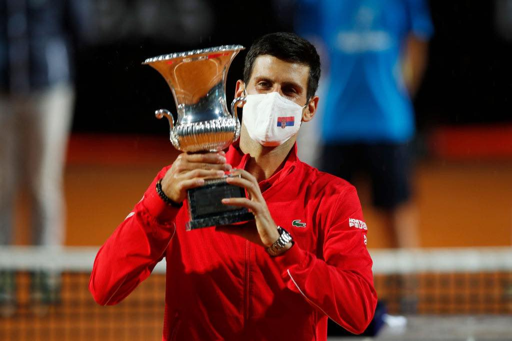 Internazionali di Italia finale vinta da Djokovic