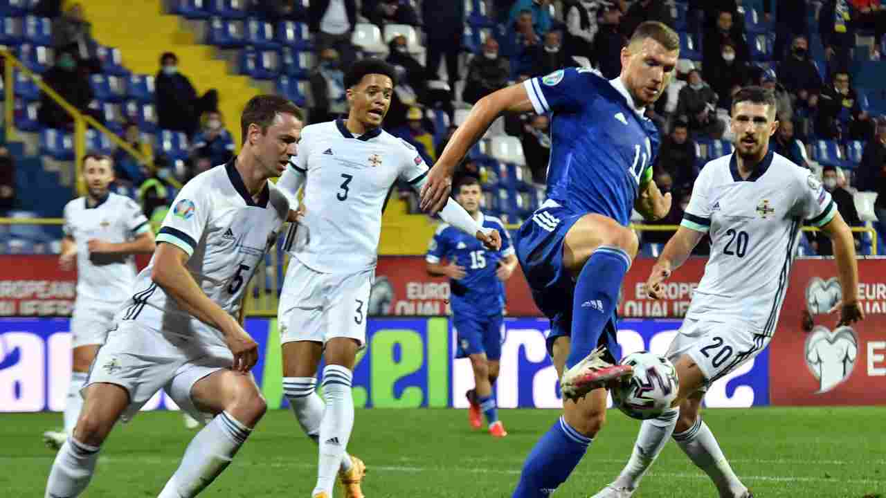 Euro 2020 | Milinkovic trascina la Serbia. Out la Bosnia
