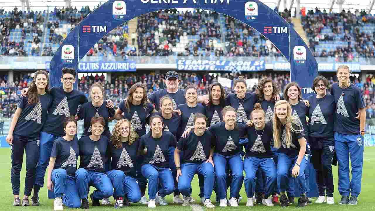 Calcio Femminile   Empoli Ladies, un avvio da sogno