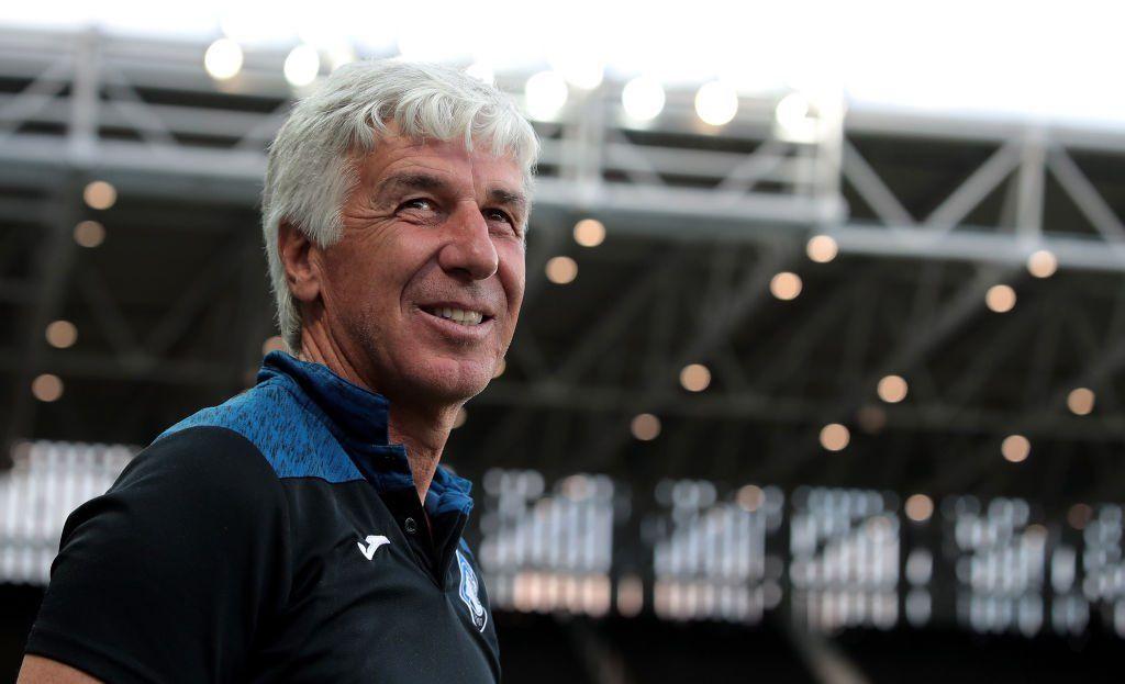 Gasperini allenatore Atalanta conferenza astampa