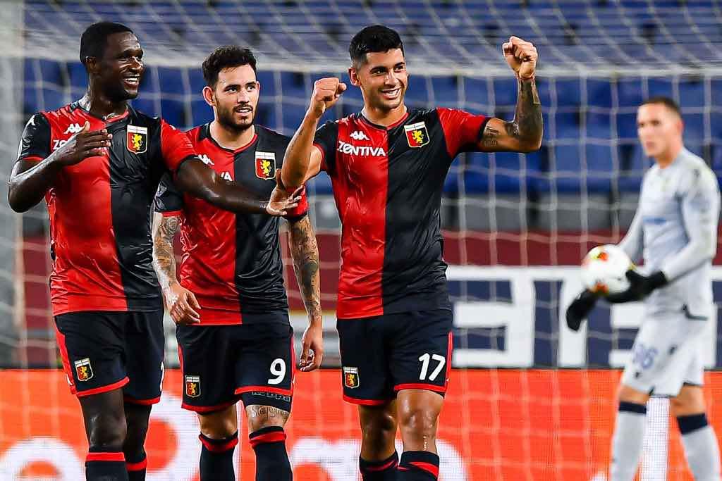 Genoa festeggia salvezza