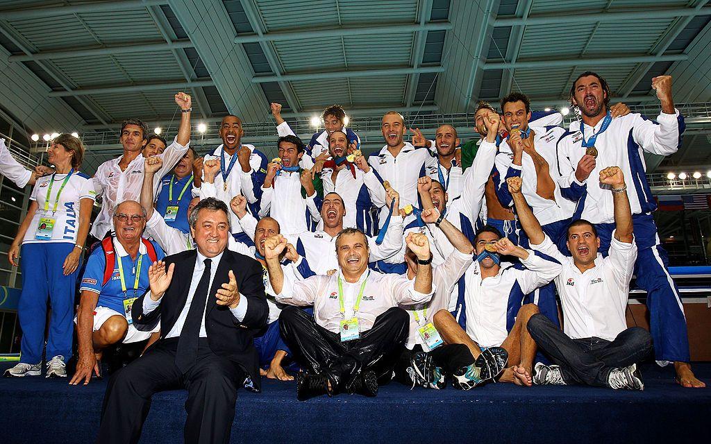 Il Settebello campione del Mondo a Shanghai nel 2011
