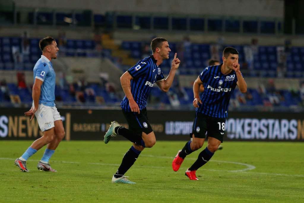 SS Lazio v Atalanta BC - Serie A 1-4 partita aperta dalla rete di Goesens