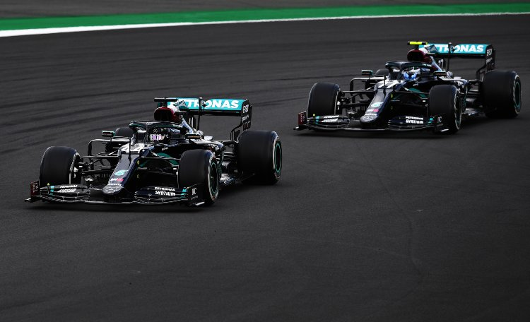 Hamilton Bottas Formula 1