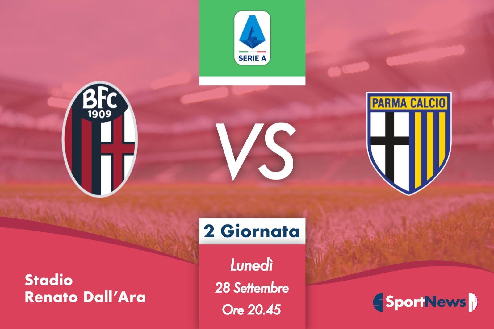 Serie A | 2ª Giornata : Bologna-Parma. Probabili formazioni, dove vederla in tv e streaming