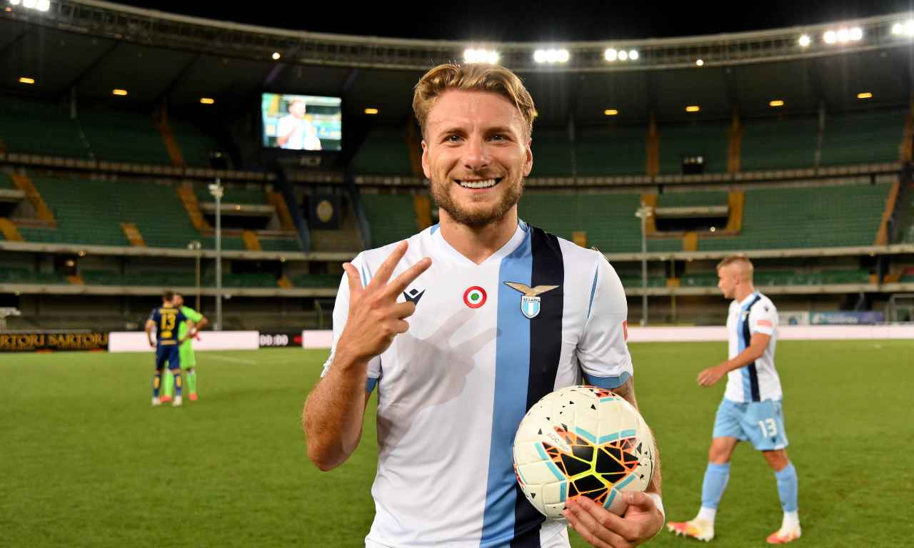 Immobile all'Everton