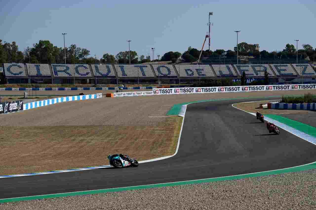 MotoGP, Marquez il più veloce nel warm up di Jerez