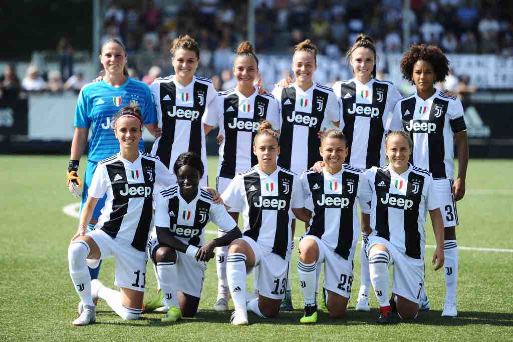 seconda giornata di campionato femminile di calcio