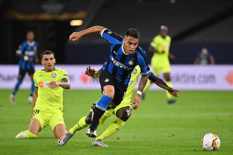 Lautaro Martinez Inter Europa League