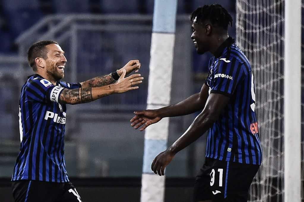 Lazio Atalanta 1-4 show del Papu Gomez
