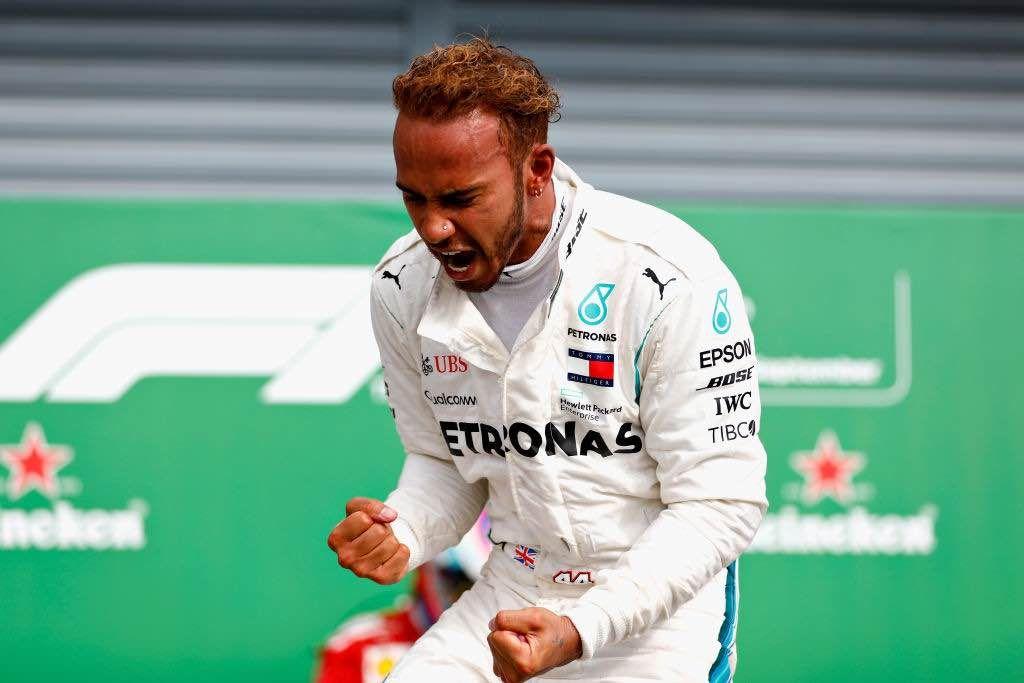 Lewis Hamilton nel Gp di Sochi