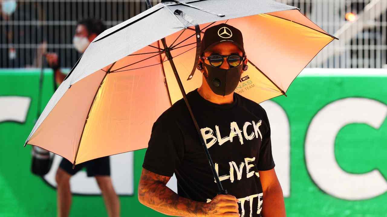 Formula 1 | Hamilton dice la sua sullo stop allo sport americano