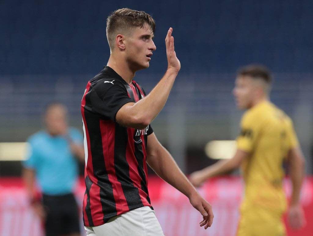 Lorenzo Colombo il più giovane rossonero a segnare in competizioni europee