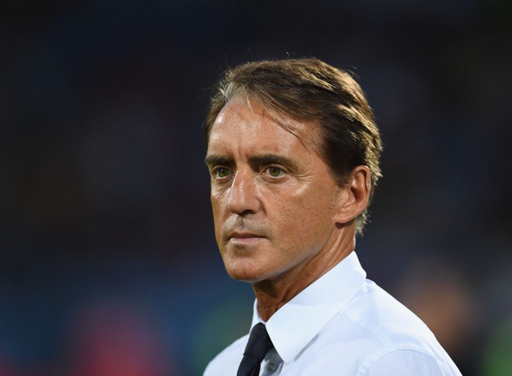 Mancini c.t. della Nazionale
