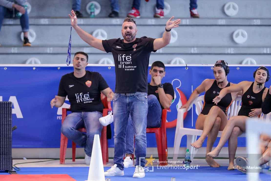 coach Marco Capanna (Lifebrain SIS Roma)