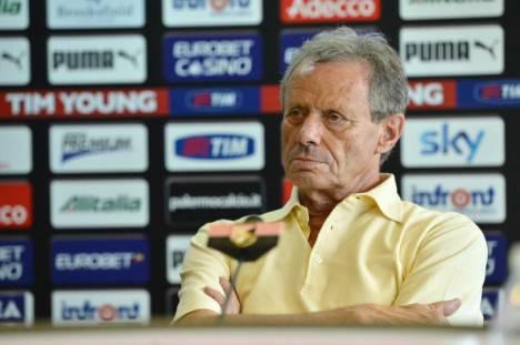 Maurizio Zamparini, presidente del Palermo