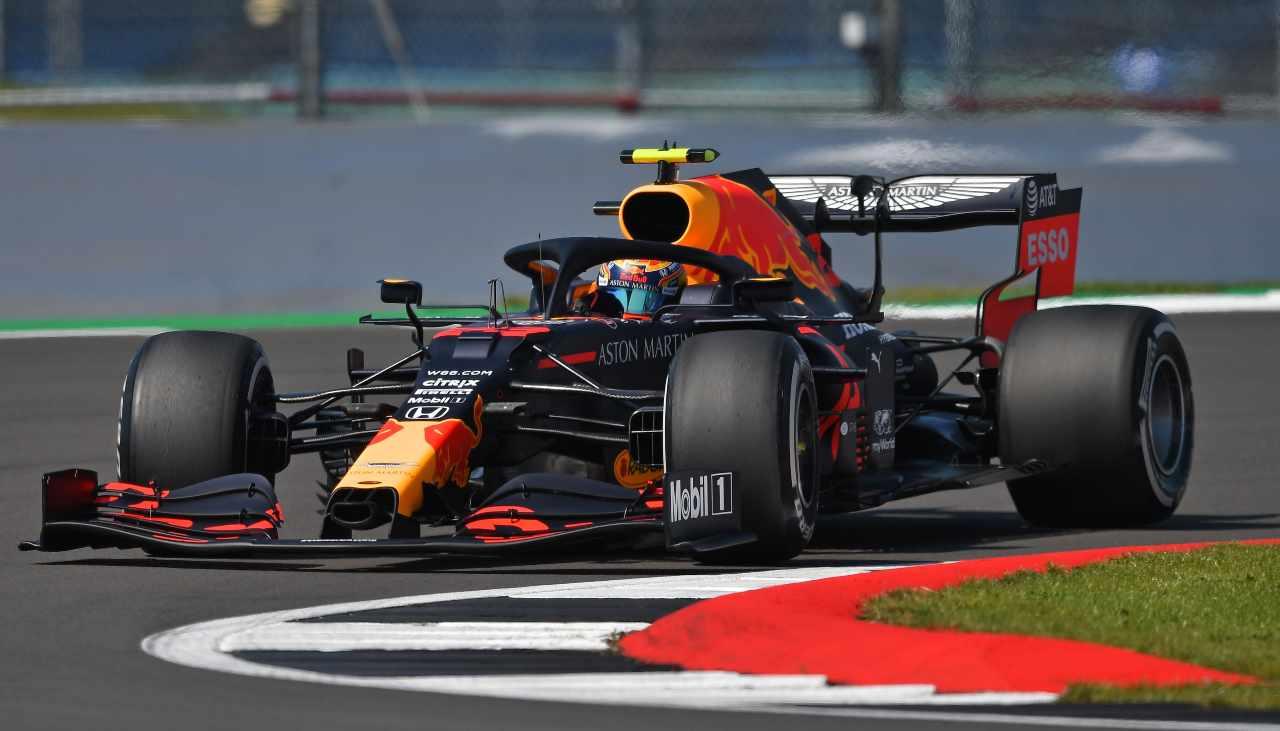 Verstappen primo nelle prove libere di Silverstone