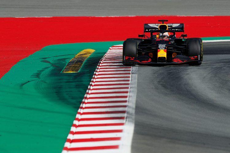 Max Verstappen alle prove libere del Gp d'Austria