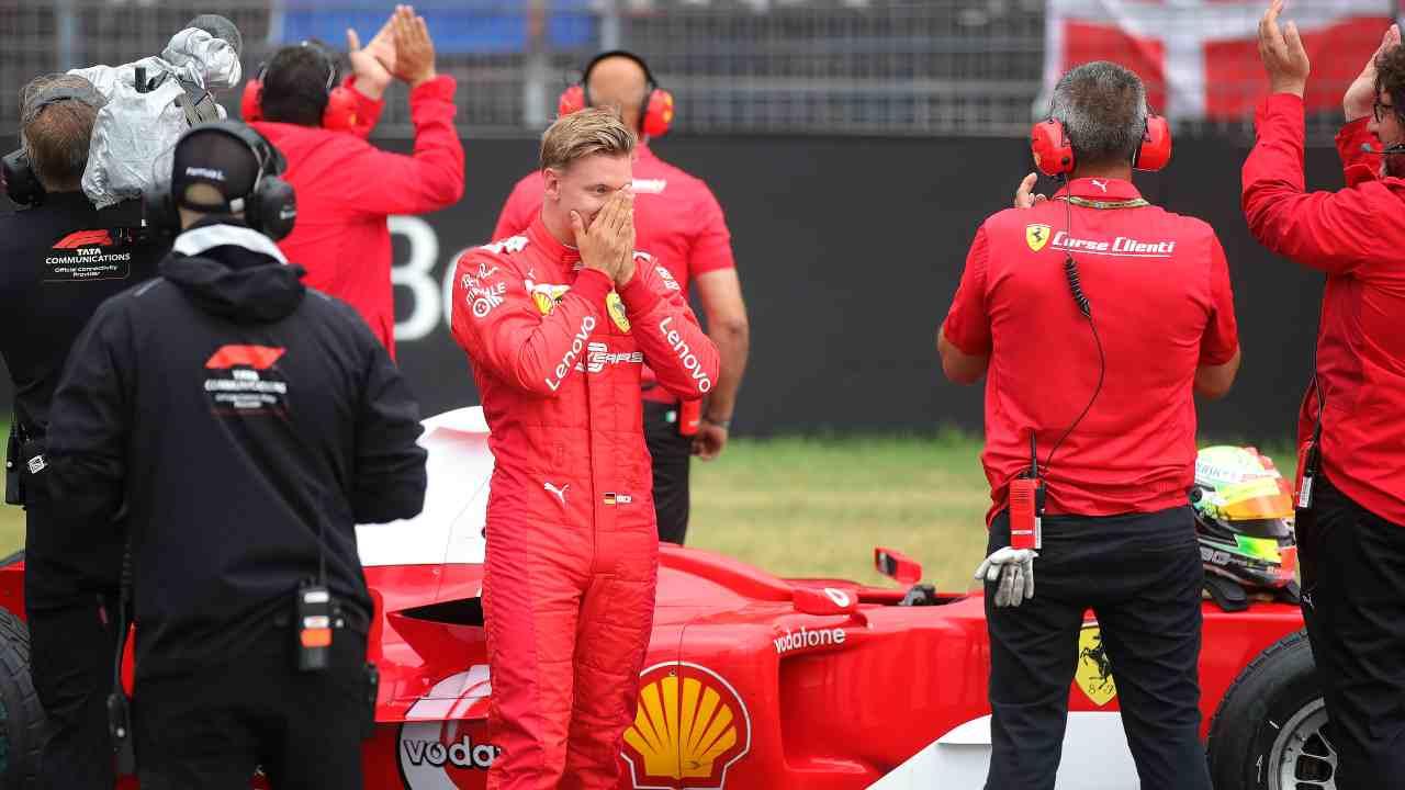 Formula 1 | Mick Schumacher con la Ferrari al Mugello