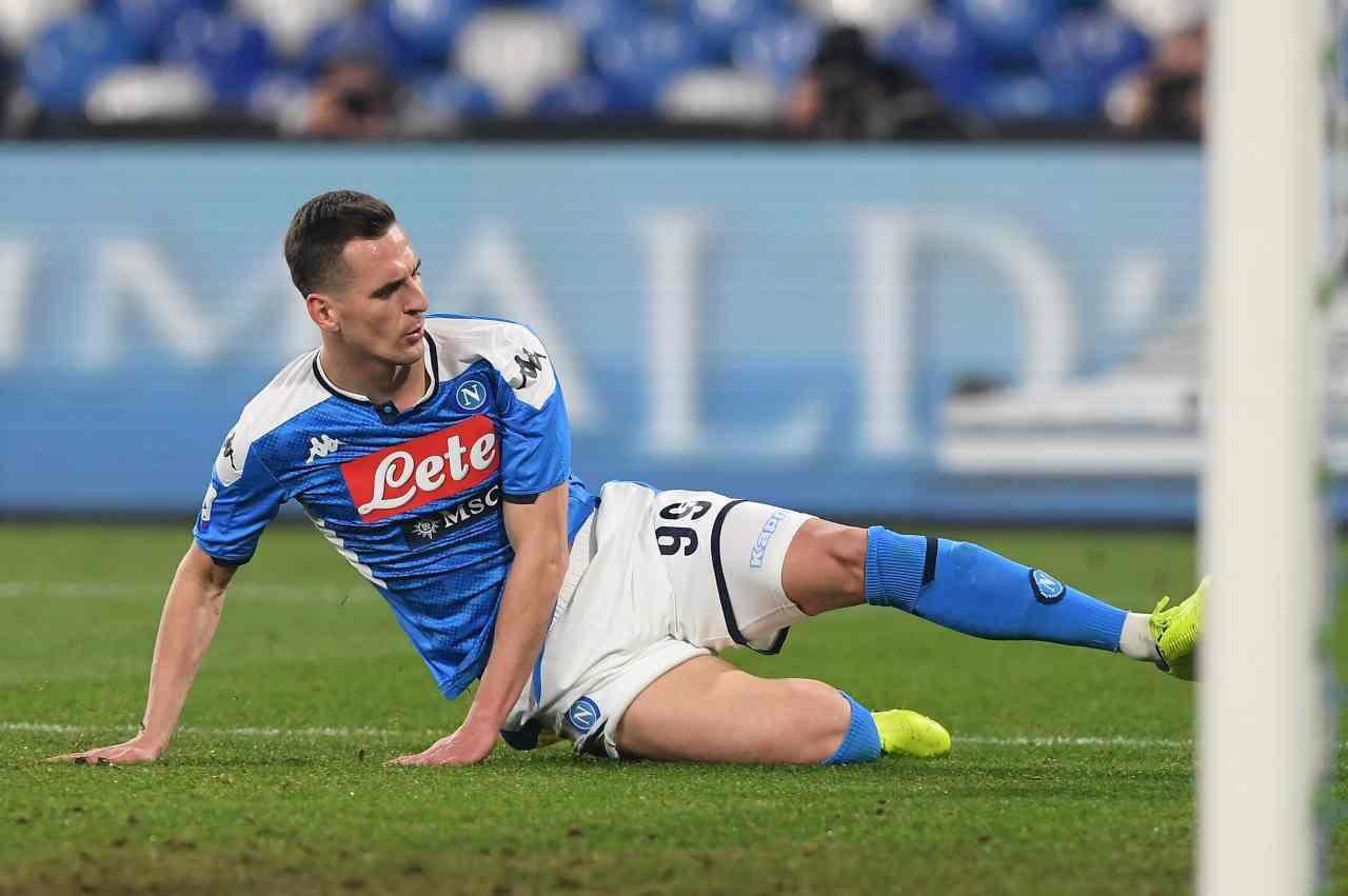 Calciomercato Napoli | Milik rifiuta due squadre, resterà in tribuna fino a gennaio