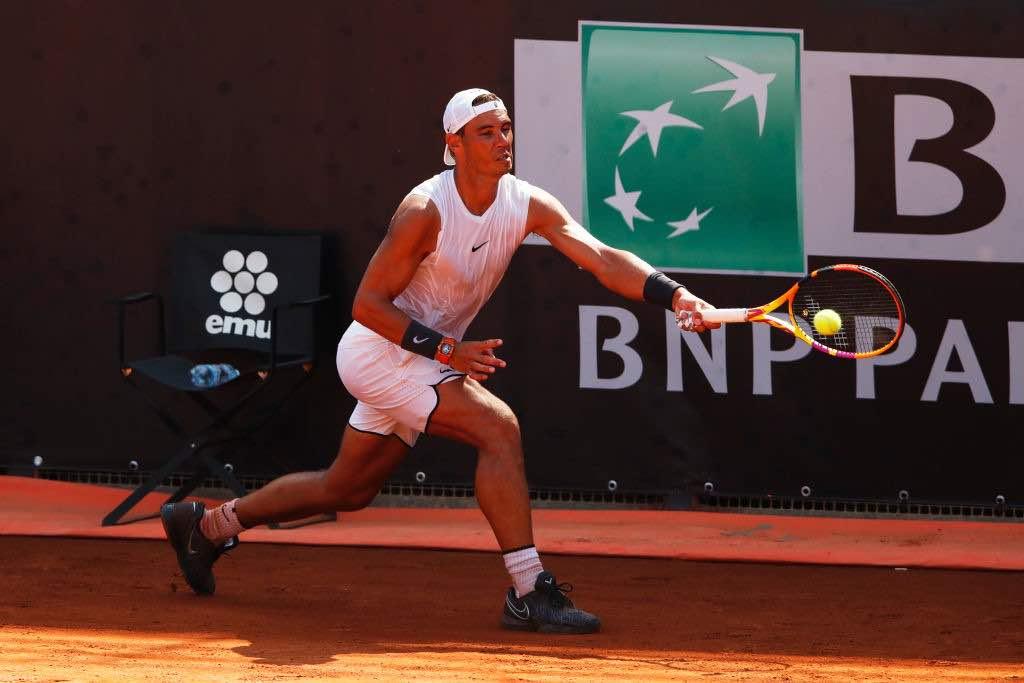 Nadal debutta agli Internazionali d'Italia 2020