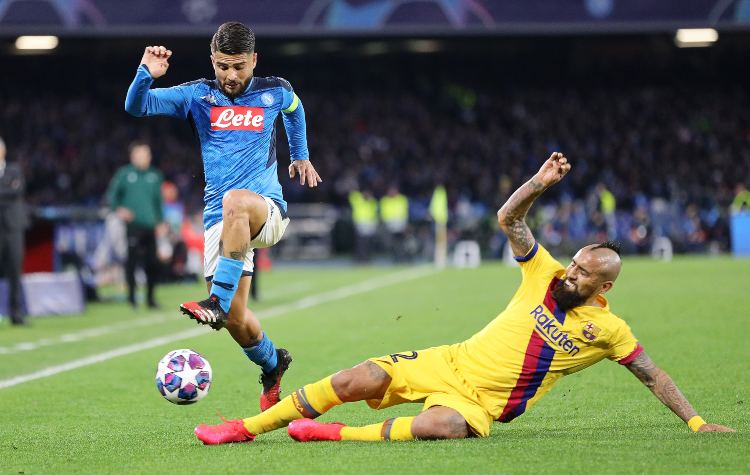 Barcellona, Napoli, Champions