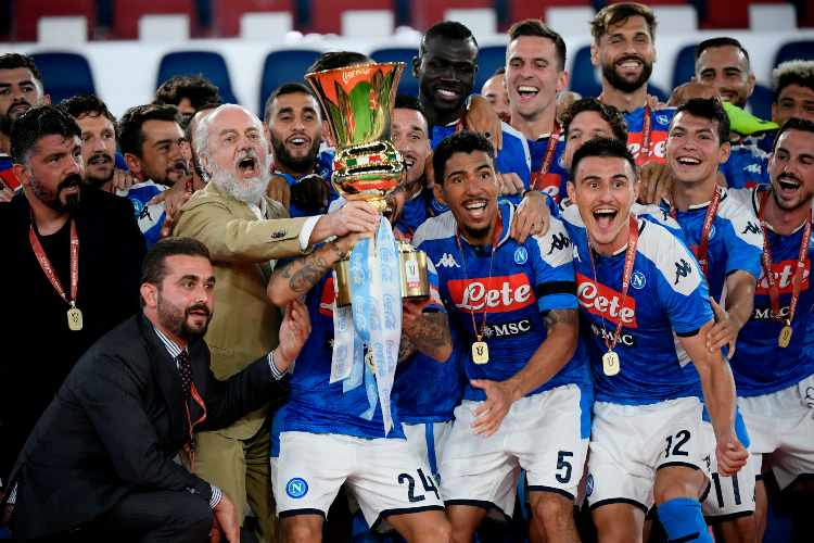 Calciomercato Napoli Aurelio De Laurentiis Rino Gattuso