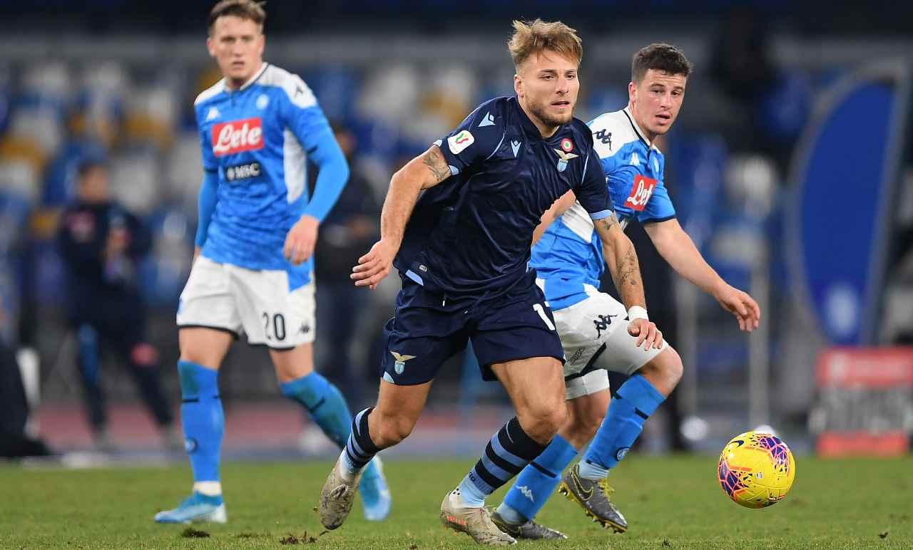 Napoli Lazio probabili formazioni