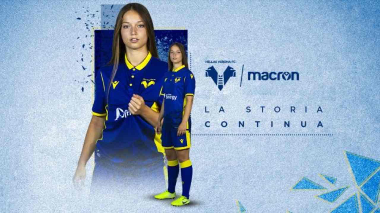 Calcio Femminile | Hellas Verona, presentate le nuove maglie (FOTO)