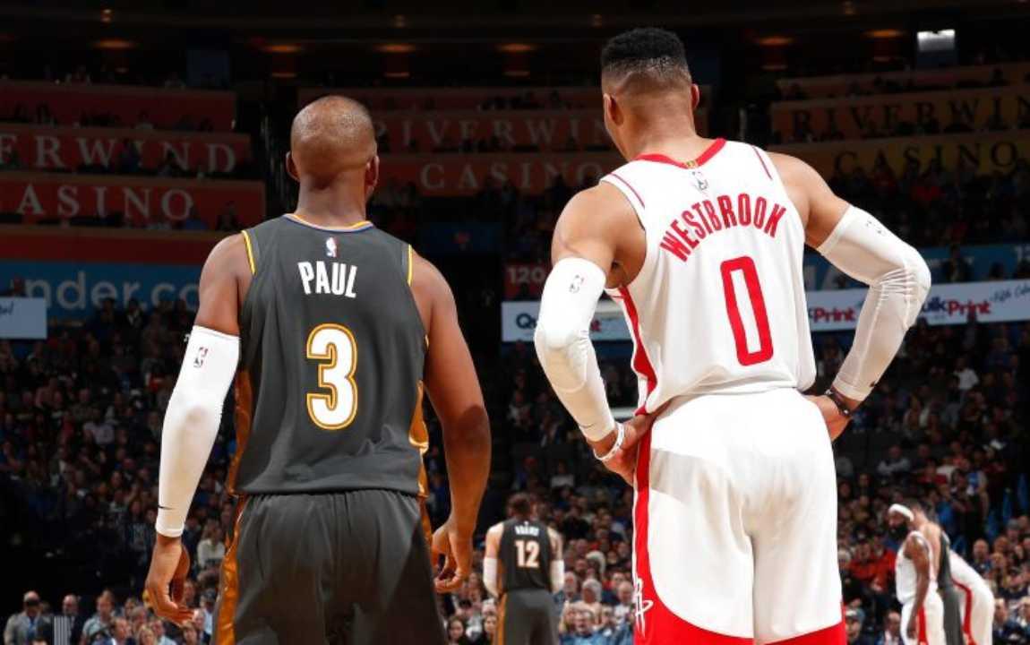 Paul vs Westbrook
