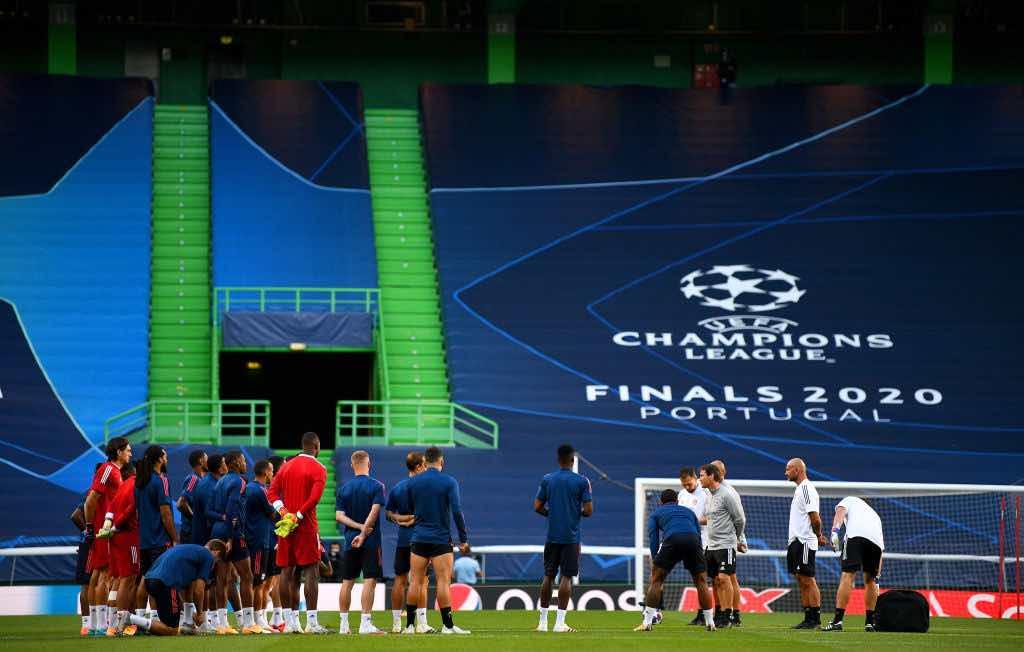 Quarto di finale di Champions League Manchester City lione