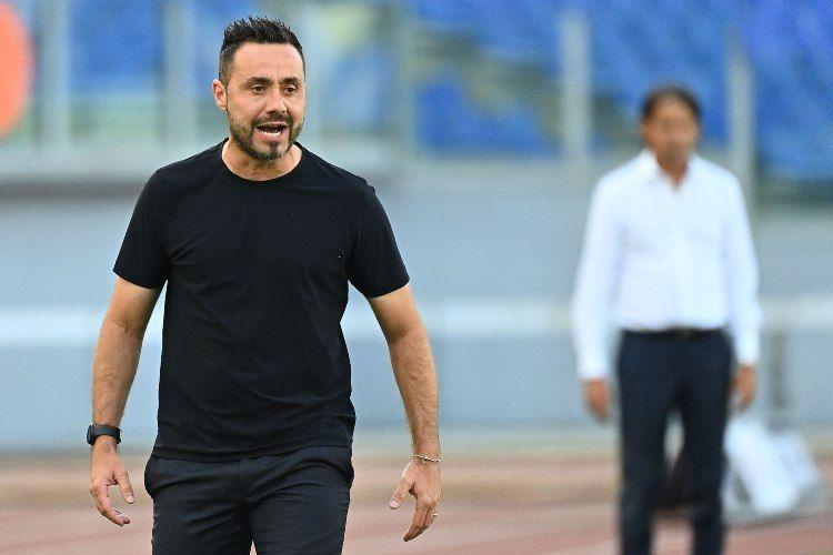 Roberto De Zerbi allenatore del sassuolo