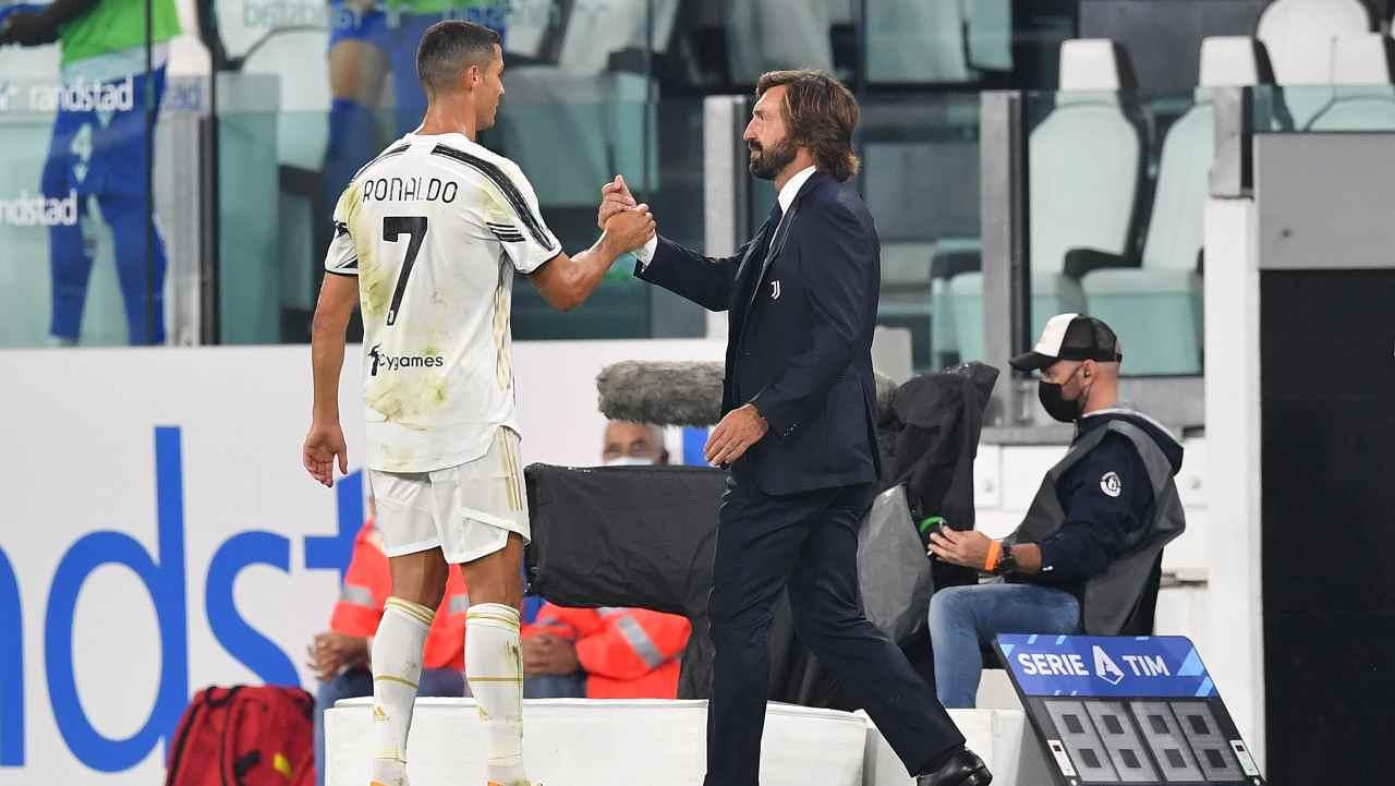 Ronaldo Pirlo Juventus (getty images)