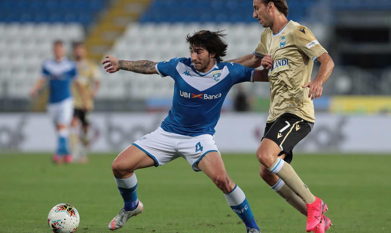Sandro Tonali: c'è l'accordo con l'Inter