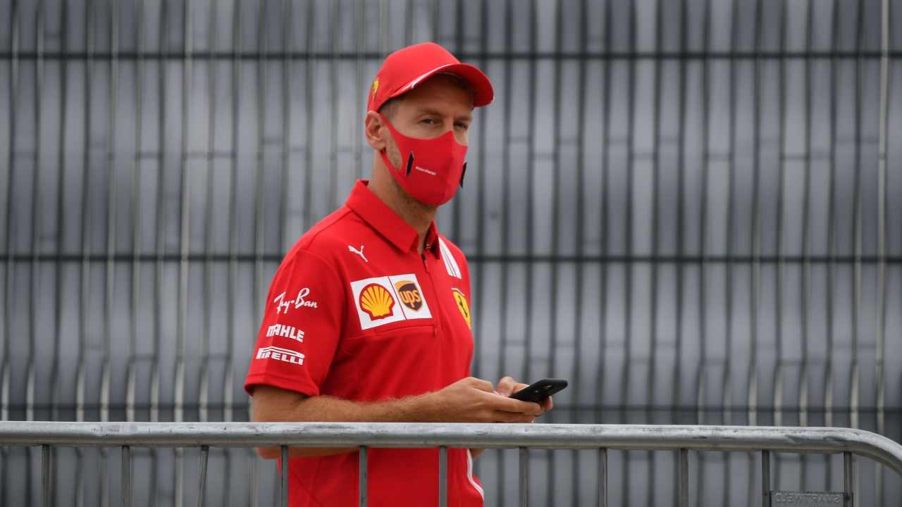 Sebastian Vettel alla Racing Point