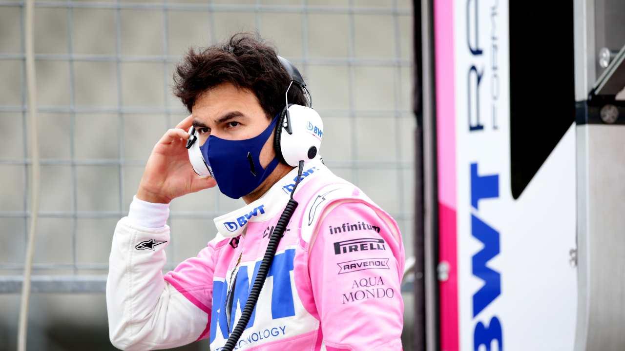 Perez della Racing Point ancora positivo al Covid
