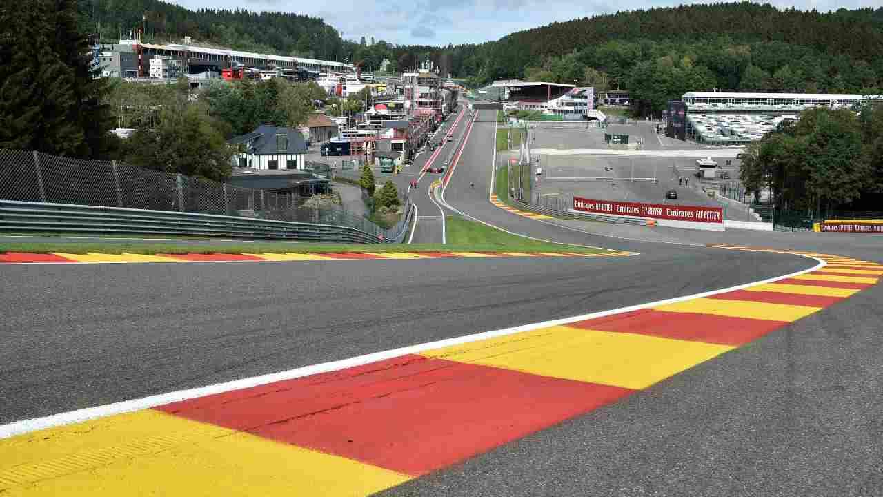 Formula 1   Al via le prove libere a Spa-Francorchamps