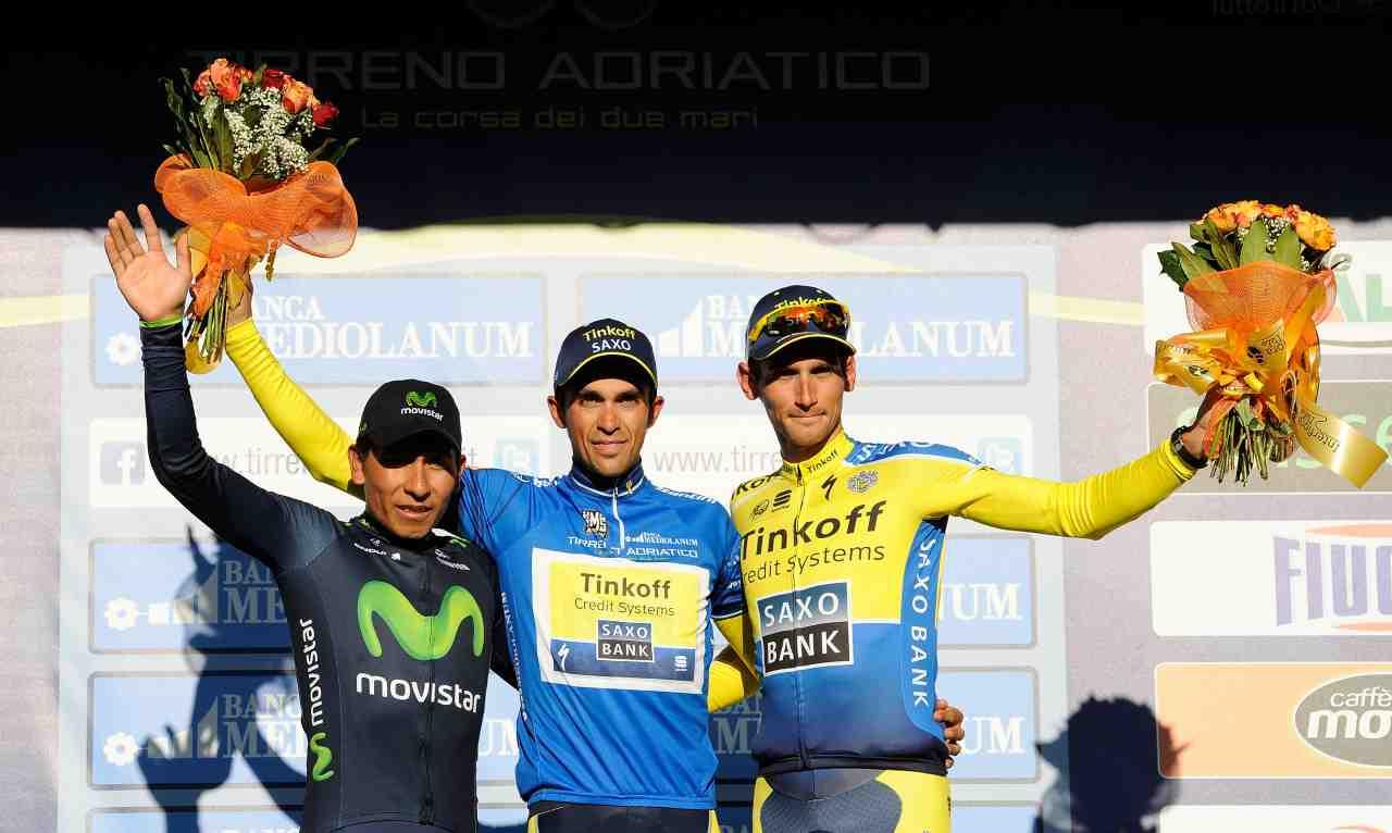 Tutte le tappe della Tirreno-Adriatico