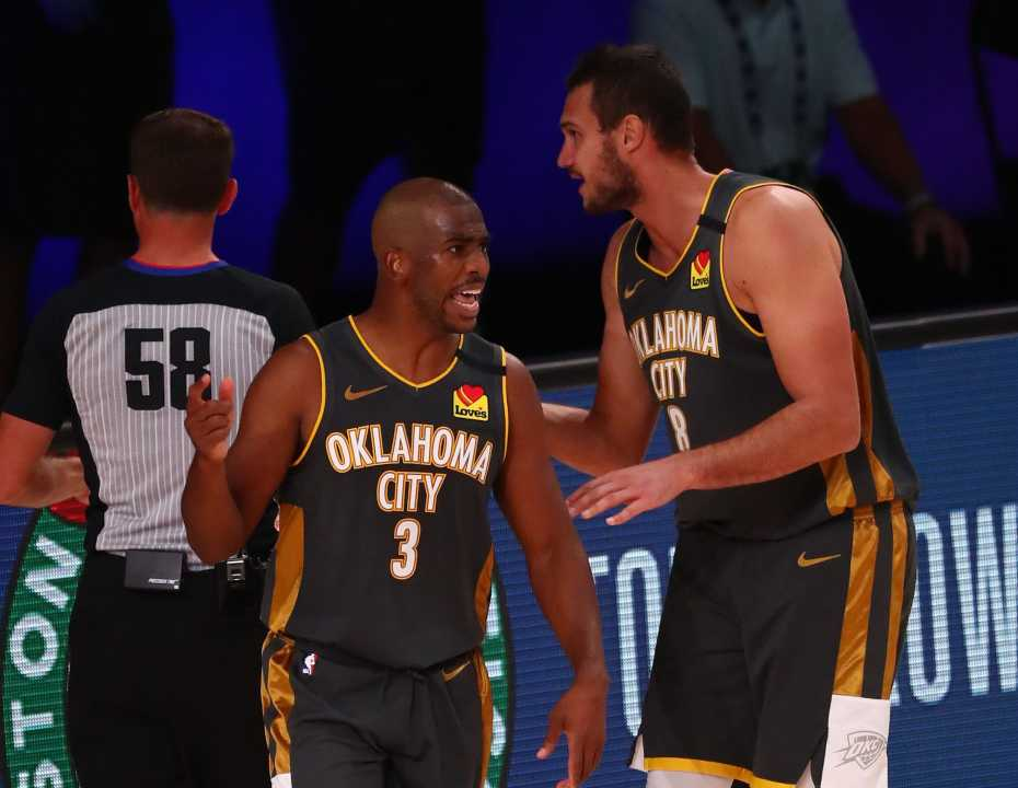 Danilo Gallinari e Chris Paul