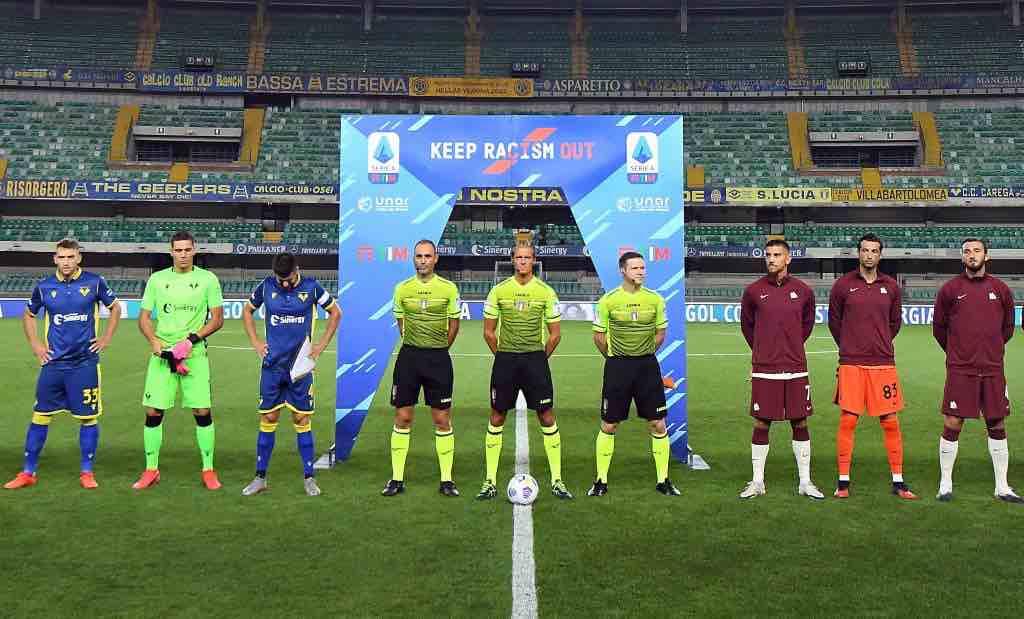 1 giornata Verona Roma