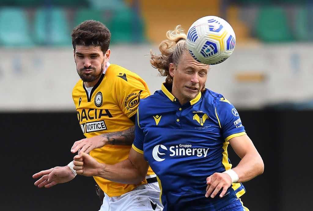 Verona - Udinese 2 giornata serie A