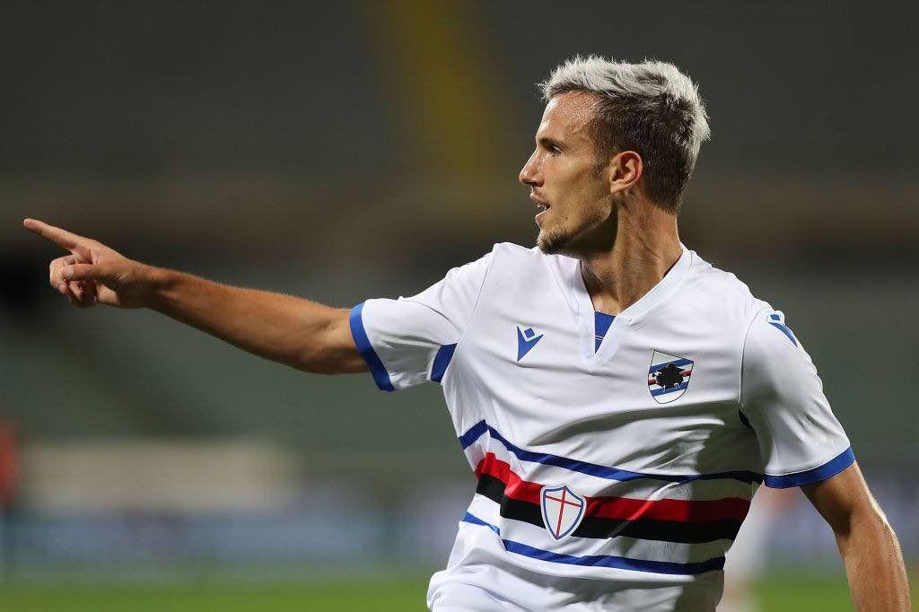 Verre autore del 2-1 con cui la Sampdoria ha battuto la Fiorentina