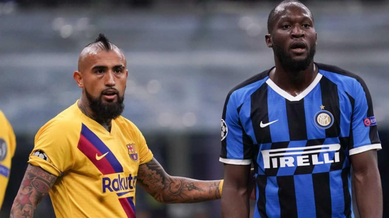 Vidal e Lukaku quest'anno potrebbero vestire la stessa maglia
