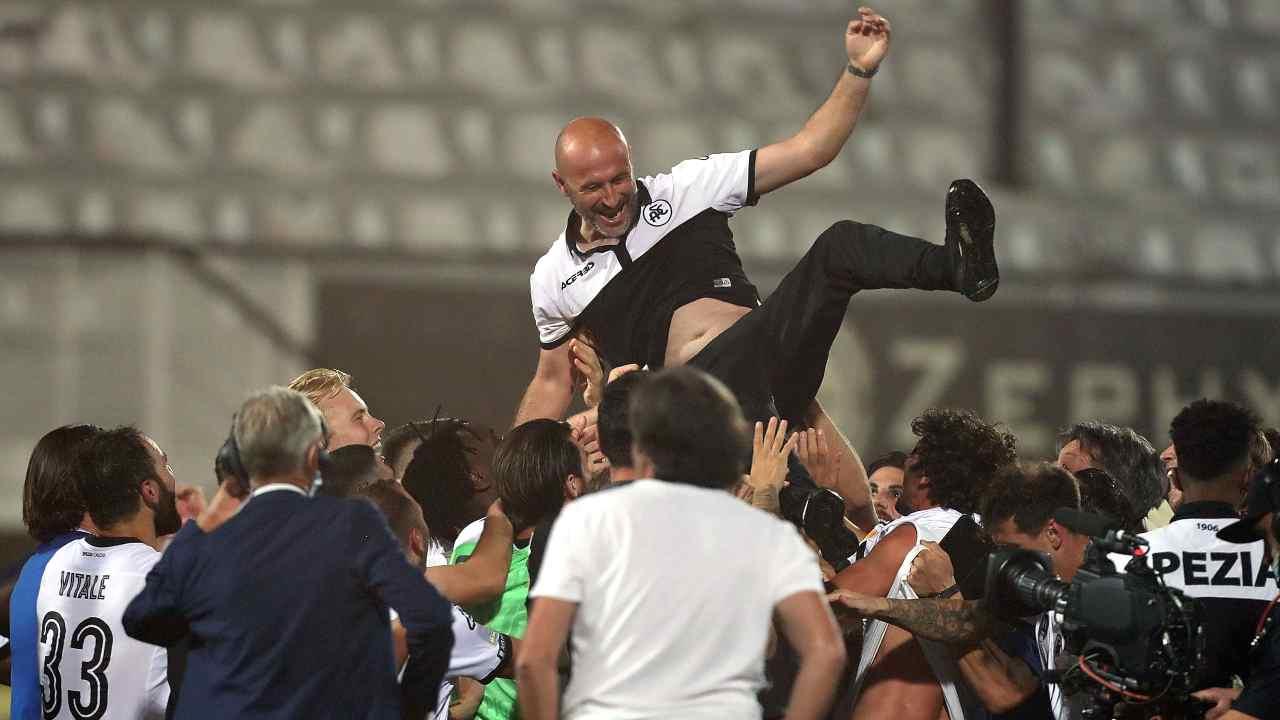 Serie B | Spezia, promozione storica. Volpi blinda Italiano