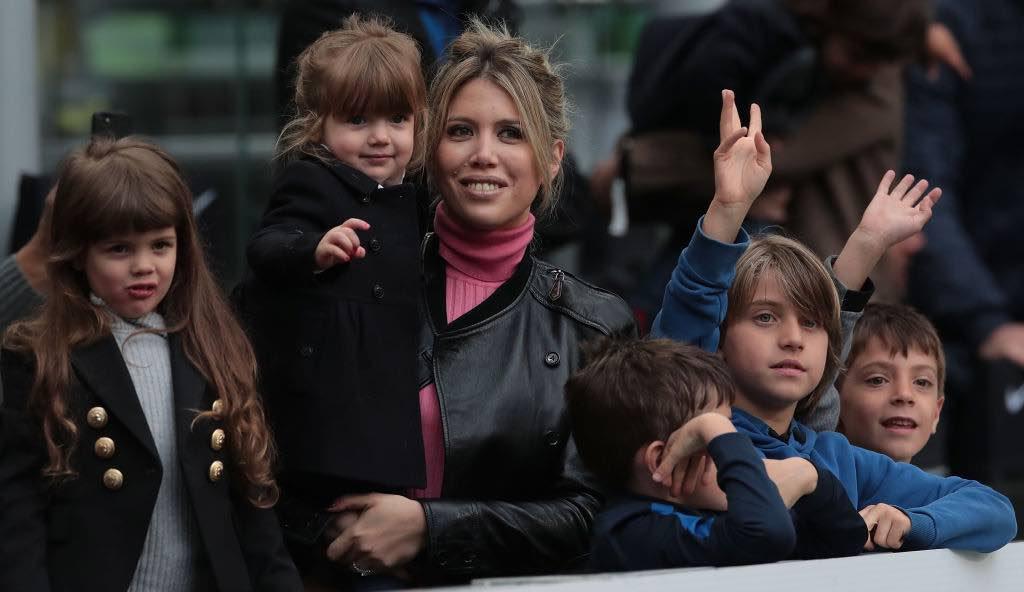 Wanda Nara, mamma di 5 figli e procuratrice e moglie di Mauro Icardi