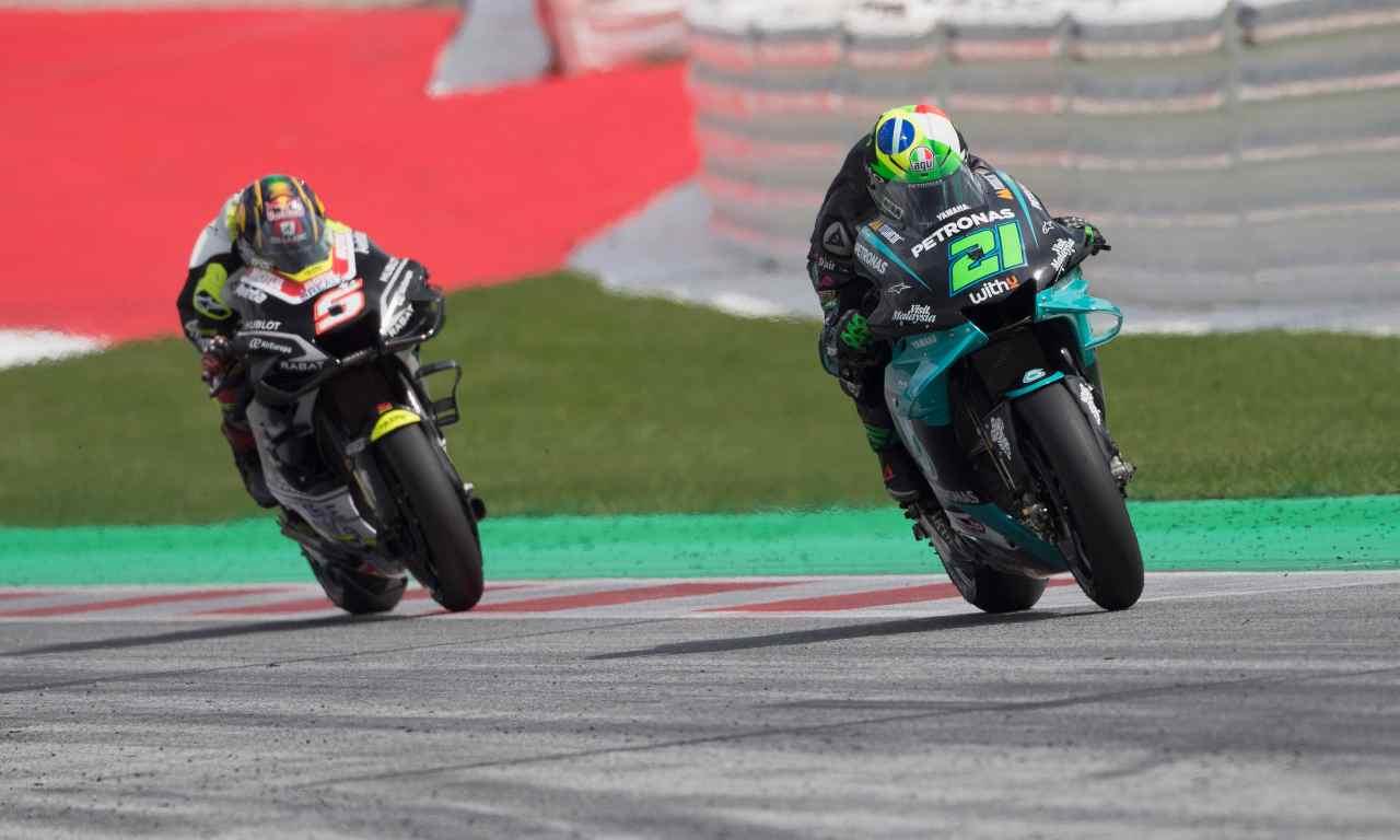 MotoGp | Zarco si difende. Incontro con Morbidelli e Rossi